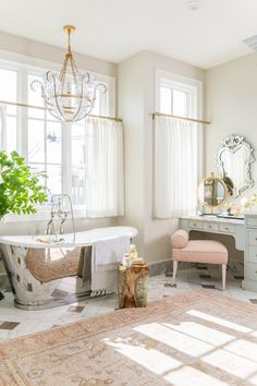 Cafe curtains inside the Master Bathroom let the sun in but keep privacy . Cafe Curtains, Paint Colors For Home, House Colors, Home And Deco, Step Inside, Floor Design, House Design, Grey Walls, Brown Walls