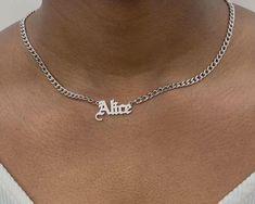 Cute Jewelry, Jewelry Gifts, Jewelry Necklaces, Etsy Jewelry, Jewelry Art, Gold Jewelry, Jewellery, Personalized Gifts For Mom, Personalized Necklace