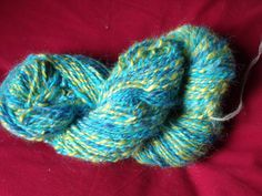 Crocus handspun art yarn 156g  150m par Frederique63 sur Etsy, €44,00