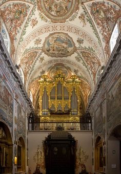 Spain | Flickr - Photo Sharing! Hospital de los Venerables.  A hospital-church adorned with a choice ensemble of art from the Sevillian school.