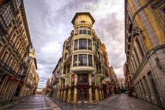 Calle Ancha, León, España
