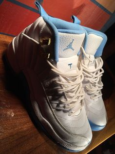 976060aace0a4f Girls  Shoes · Air Jordan 12 University Blue GS 510815-127 Size 7 Y Pre  Owned  fashion