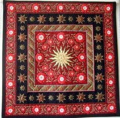 Applique quilt by Liz Jones
