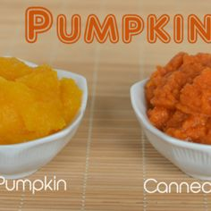 Fresh Pumpkin Puree in 3 Simple Steps