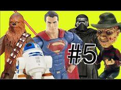 #5 Abrindo Star Wars Guerra nas Estrelas: Chewbacca Super Homem Freddy K...