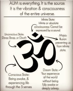 Aum is the the cosmic power behind all creation. It is the vibration by which God brings all things into manifestation, and is known as Aum to the Hindus. Meditation Videos, Meditation Quotes, Chakra Meditation, Mindfulness Meditation, Yoga Quotes, Zen, Spiritual Cleansing, Om Shanti Om, Spiritual Messages
