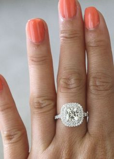 A classic halo never goes out of style!! Say yes with a ring from Brynn Marr Jewelers! Jacksonvilles OLDEST Jeweler!
