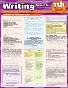Seventh Grade (Grade 7) Writing Essays Questions