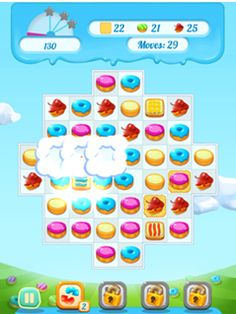 Play #Cookie Crush 2 #game online here at Gamesstore.org. Cookie Crush 2 is one of our handpicked mobile puzzle games that can be played on any device.