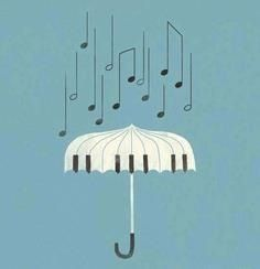 It's raining music!