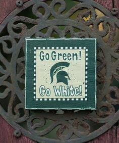 Take a look at this Michigan State Logo Magnet by Glory Haus on #zulily today!