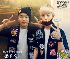 BLUE EYED K-POP IDOLS: #344 -(submitted OTP-edits)  JaeDae (Yoo Youngjae + Jung Daehyun) - B.A.P
