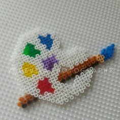 Let's paint! - Hama (perler) beads by Vodevila - Let's paint! - Let's paint! – Hama (perler) beads by Vodevila – Let's paint! – Hama (perler) beads by V -