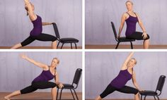 Counteract the effects of aging on your body with these expert-recommended chair yoga poses.