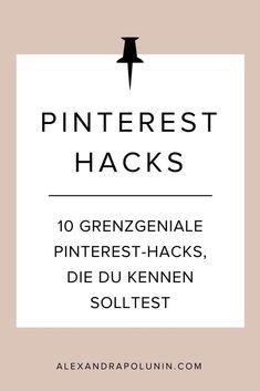 Pinterest kann ganz schön Spaß machen! Damit meine ich ausnahmsweise mal nicht all die tollen Dinge, die du auf Pinterest entdecken kannst, sondern all die Tricks, Hacks und Spielereien, die sich im Browser oder in der Pinterest-App so anstellen lassen. N