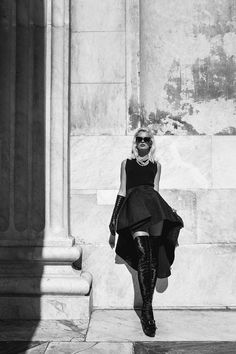 andrea daquino coat story7 Tereza Wears Ladylike Looks for Quality Magazine by Andrea DAquino