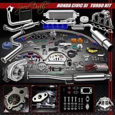 33 Best CIVIC TURBO KITS|HONDA CIVIC TURBO CHARGE KITS|TURBO CIVIC