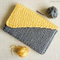 Crochet Handbag - crochet pattern preview by jakigu.com