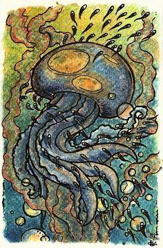 Jelly Fish by Daniel Popa