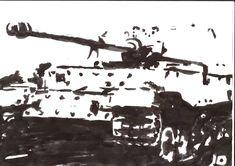 A Ferdinand Tank. Artwork made by me.