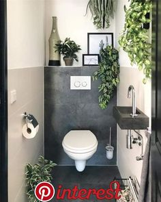 They are all fake but I dont care. They are all fake but I dont care. The post They are all fake but I dont care. appeared first on Badezimmer ideen. Small Toilet Room, Guest Toilet, Downstairs Toilet, Bathroom Design Small, Bathroom Interior Design, Modern Bathroom, Bad Inspiration, Bathroom Inspiration, Wc Decoration