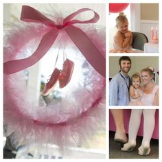 @Mama and Baby Love-- Couldn't live without this tutu wreath! The shoes are adorable!!