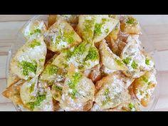 GOSHE FEEL   گوش فيل Afghan Recipe, Afghan Food Recipes, Sugar Cookies Recipe, Cookie Recipes, Dessert Recipes, Poli Recipe, Healthy Food, Healthy Recipes, Middle Eastern Recipes