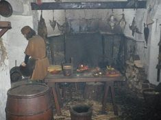 The Smoky Medieval Kitchen
