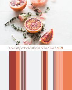 Bed Linen SUN. The ultimate stripes for your bedroom.