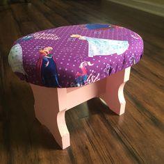 ELLES CAGE children stool. Frozen $29