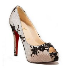 Bouquet Platform Christian Louboutin Pumps Beige