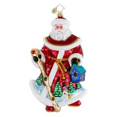 Image detail for -Christopher Radko Christmas Ornament - Woodland Kindness