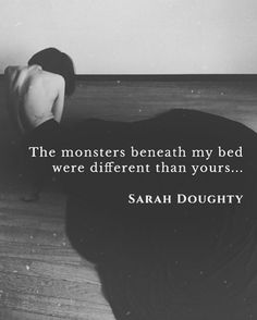 . The monsters beneath my bed were different than yours. They, too, feared the one hiding in plain sight. They accepted me as one of them and I made the darkness my home. — T h e y  D o n ' t  S c a r e  M e by Sarah Doughty . Photo credit the amazing and beautiful @__y_818__. . For the Moon Ink October Challenge, hosted by my lovely friend @mooninkndaydreams. . Want to be featured? DM @creativecoterie. DM me to share your fan art/photography. . #sarahdoughty
