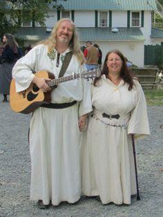 Damh the Bard and Cerri Lee -- photo courtesy of John Beckett