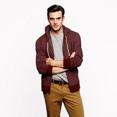 Utility zip hoodie - sweatshirts - Men's sweatshirts & sweatpants - J.Crew
