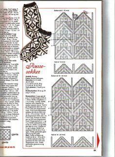 russesokker – Google Søk Knitted Mittens Pattern, Knit Mittens, Mitten Gloves, Knitting Socks, Hand Knitting, Knitting Videos, Knitting Charts, Knitting Patterns, Fingerless Mittens