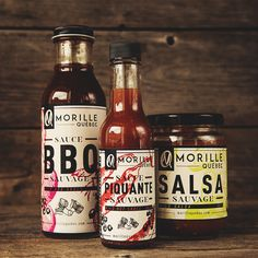 Morilles Québec - Sauces on Packaging of the World - Creative Package Design Gallery