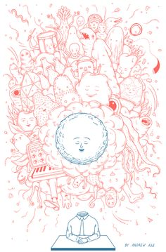Andrew Rae Illustrator and Graphic Novelist