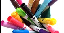 Hi, Teaching Friends! Do you have bins full of mostly-worn out or really-should-be-tossed markers? I didn't know this, but markers can't j. Fourth Grade, Second Grade, Earth Day Projects, Recycling Programs, Too Cool For School, School Boy, Tossed, Math Activities, Markers