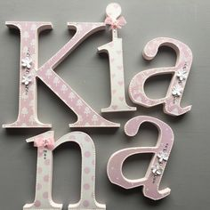 the 30 best shabby chic wooden letters images on pinterest etsy