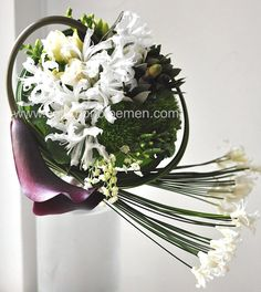 Bouquet - flower school class works | Solomon bloemen bespoke floral designs- bd3bd-47