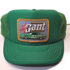 eec998143d3 Vintage Harry Gant Skoal Bandit 33 Nascar Embroidered Patch Snapback  Trucker Hat  DesignerAward  Skoal