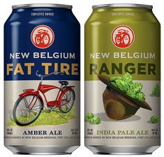 New Belgium Brewing Cans