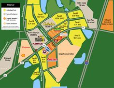 New Development around Premium Outlets in Wesley Chapel Pasco County, Premium Outlets, Wesley Chapel, New Home Communities, Retail Space, The Neighbourhood, Florida, The Unit, Map