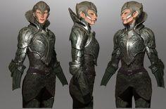 ravine- process shot for lynn's winter armor by nebezial.deviantart.com