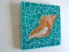 Sea Shell  Mosaic by cactuscountry on Etsy