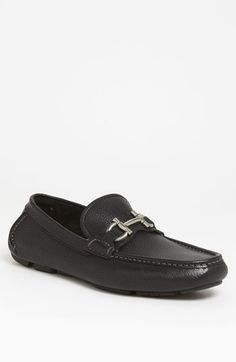 Salvatore Ferragamo 'Daverio' Driving Shoe (Men) available at #Nordstrom