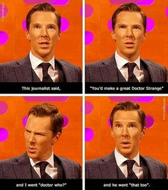 Benedict as Doctor Strange & Doctor Who x]