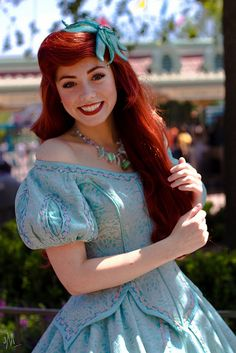 Ariel. I have yet to meet her at Disneyland, but I really want to!! My favorite princess