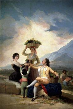 La vendimia ( el otoño) de Goya